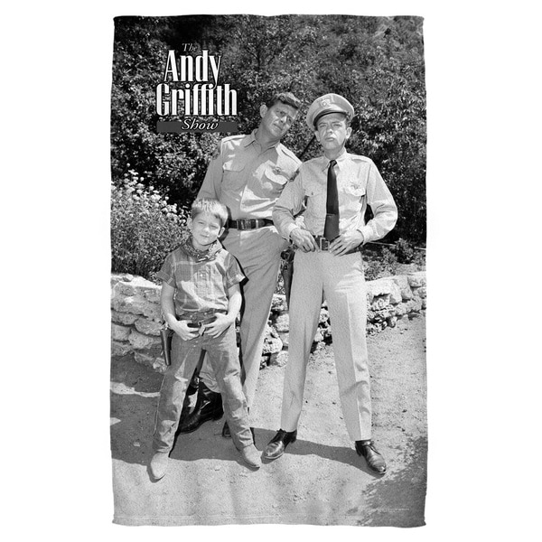 Andy Griffith/Lawmen Polyester Beach Towel