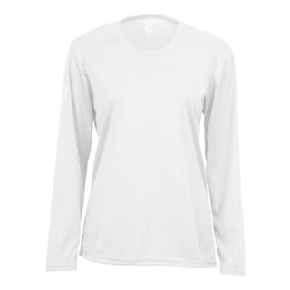 Performance Women's Long-sleeve White T-shirt
