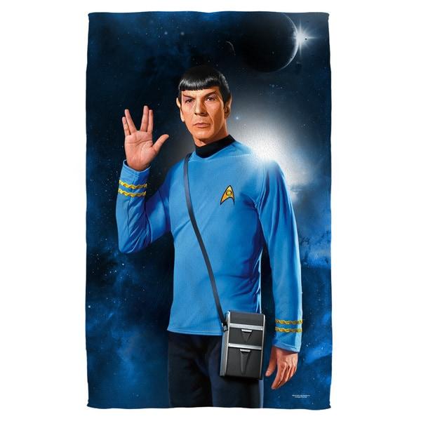 Star Trek/Spock Polyester Beach Towel