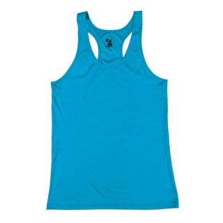 Performance Women's Racerback Electric Blue Tank