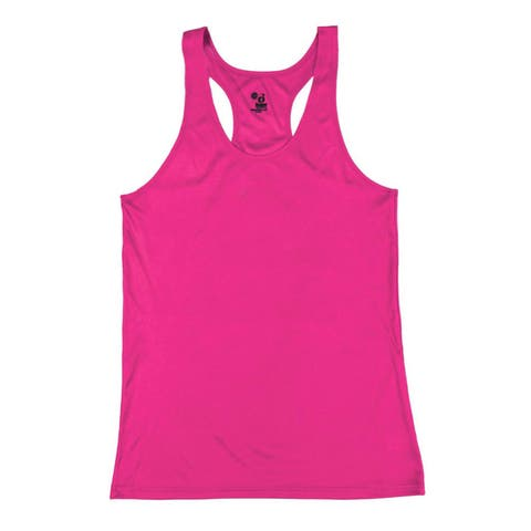 Performance Women's Racerback Hot Pink Tank