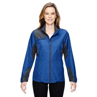 Interactive Women's Sprint Printed Lightweight Nautical Blu 413 Jacket