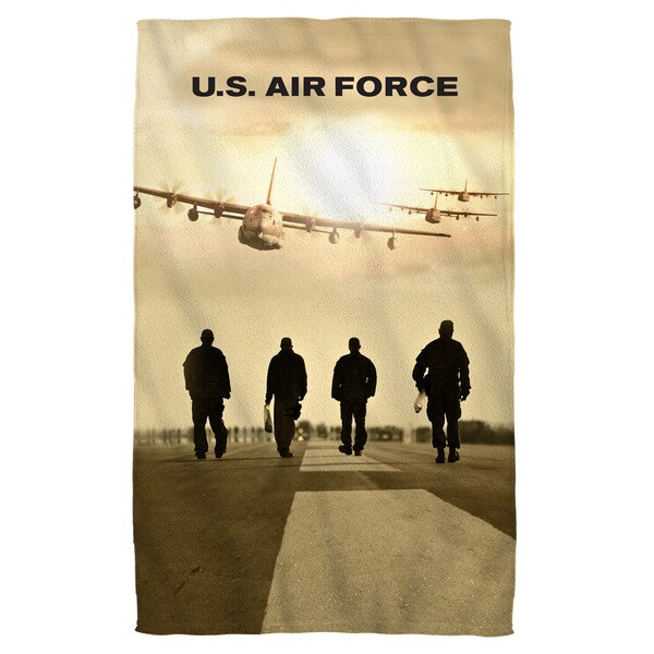 Air Force/Long Walk Beach Towel