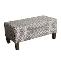 HomePop Finley Large Storage Bench