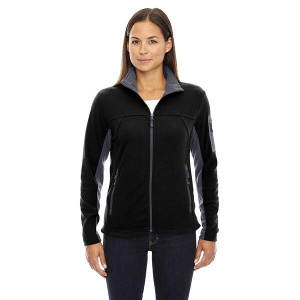 Micro-fleece Women's Fleece Black 703 Jacket