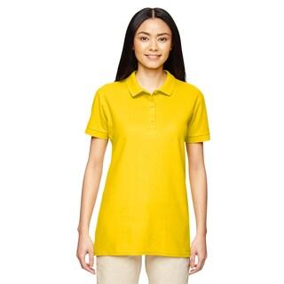 Premium Cotton Women's Double Pique Daisy Sport Shirt