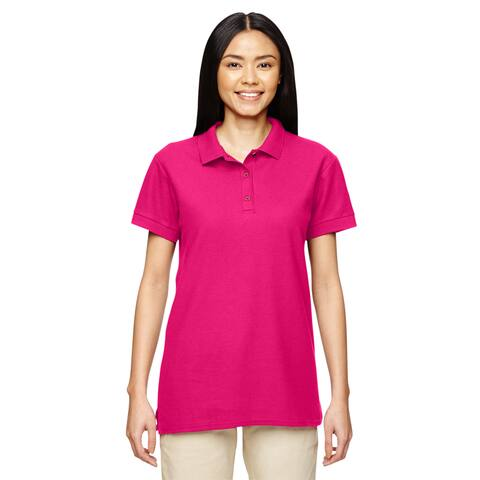 Premium Cotton Women's Double Pique Heliconia Sport Shirt