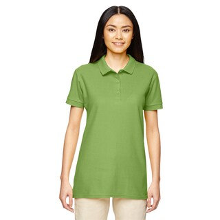Premium Cotton Women's Double Pique Kiwi Sport Shirt