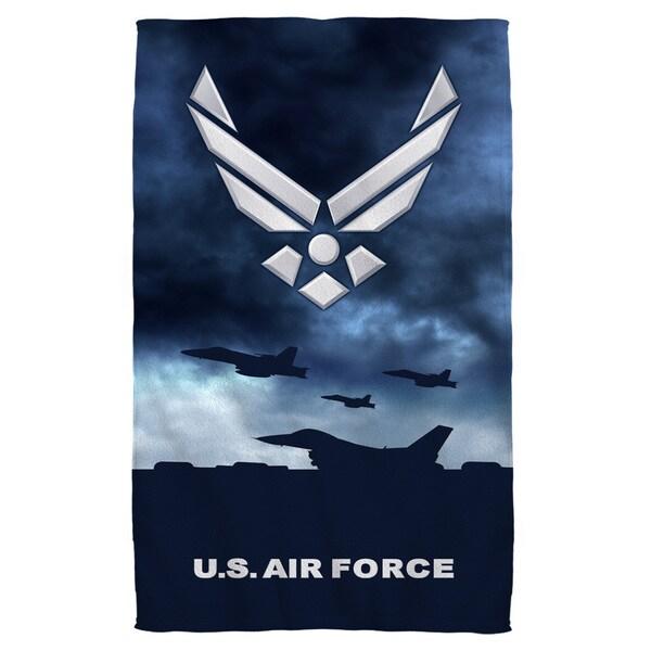 Air Force/Take Off Beach Towel