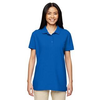 Premium Cotton Women's Double Pique Royal Sport Shirt