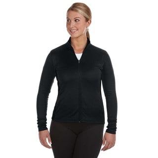 Performance Women's Colorblock Full-zip Black/ Black Jacket