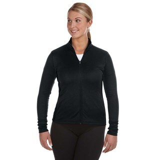 Performance Women's Colorblock Full-zip Black/ Black Jacket