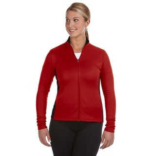 Performance Women's Colorblock Full-zip Scarlet/ Black Jacket