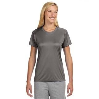 Shorts Sleeve Women's Shirt Graphite Cooling Performance Crew