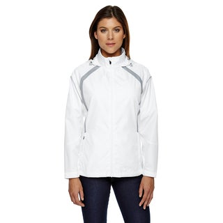 Sirius Women's Lightweight with Embossed Print White 701 Jacket