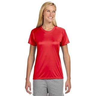 Shorts Sleeve Women's Shirt Scarlet Cooling Performance Crew