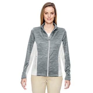 Shuffle Women's Performance Melange Interlock Crystal Qrtz 695 Jacket