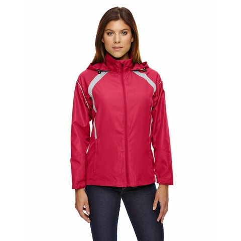 Sirius Women's Lightweight with Embossed Print Olympic Red 665 Jacket