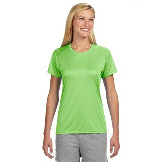 Shorts Sleeve Women's Shirt Lime Cooling Performance Crew (More options available)