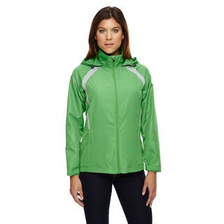 Sirius Women's Lightweight with Embossed Print Valley Green 448 Jacket|https://ak1.ostkcdn.com/images/products/12266061/P19106100.jpg?impolicy=medium