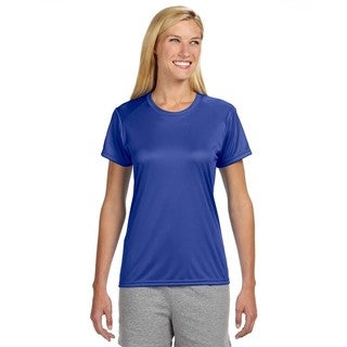 Shorts Sleeve Women's Shirt Royal Cooling Performance Crew