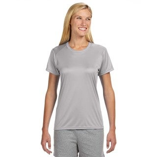 Shorts Sleeve Women's Shirt Silver Cooling Performance Crew