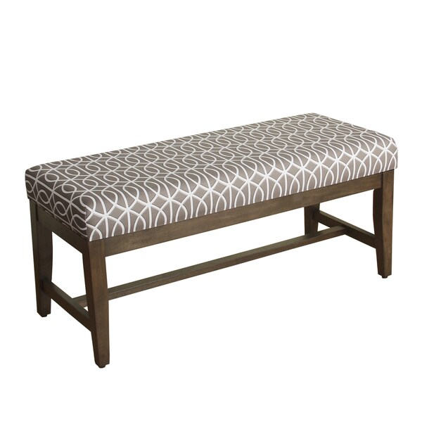 homepop finley decorative bench free shipping today overstock 19106042. Black Bedroom Furniture Sets. Home Design Ideas