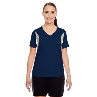Short-sleeve Women's V-neck Sport Dark Navy All Sport Jersey
