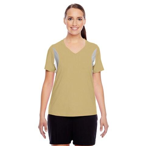 Short-sleeve Women's V-neck Sport Vegas Gold All Sport Jersey