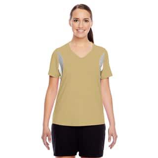 Short-sleeve Women's V-neck Sport Vegas Gold All Sport Jersey https://ak1.ostkcdn.com/images/products/12266092/P19106126.jpg?impolicy=medium