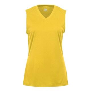 Sleeveless Women's Gold T-shirt https://ak1.ostkcdn.com/images/products/12266101/P19106134.jpg?_ostk_perf_=percv&impolicy=medium