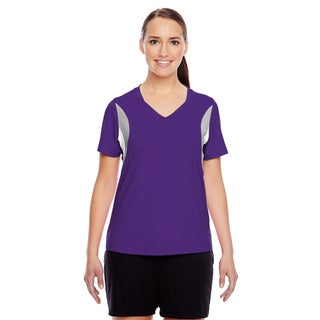 Short-sleeve Women's V-neck Sport Purple All Sport Jersey