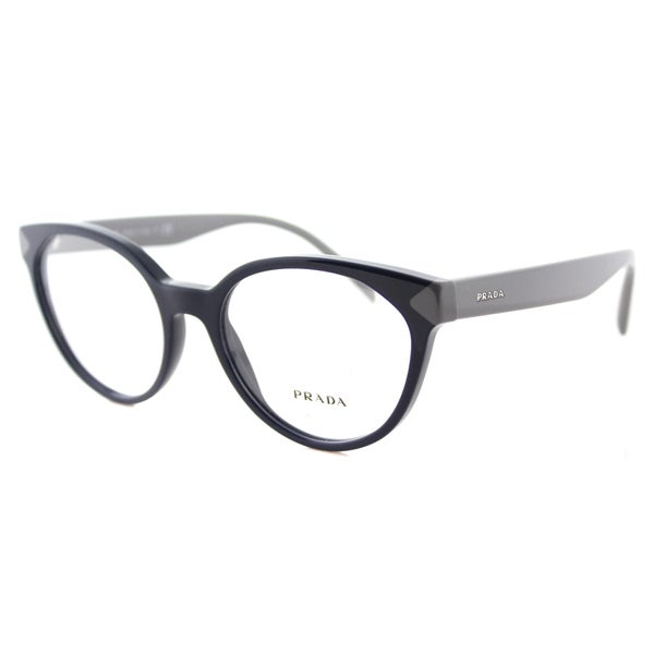 5d22fc6ed6a Prada Blue Plastic Cat-Eye Eyeglasses - Free Shipping Today - www. lesbauxdeprovence.