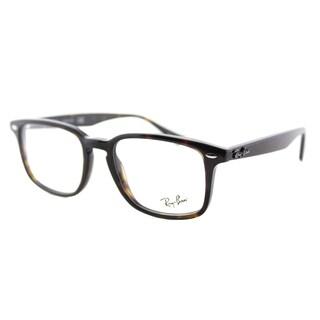 Ray-Ban RX 5353 2012 Havana 52-millimeter Plastic Square Eyeglasses