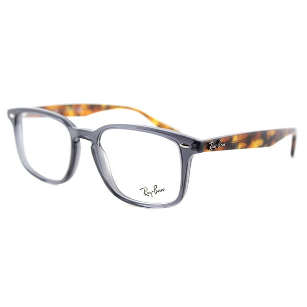 Shop Ray Ban Rx 5353 5629 Square Opal Grey Plastic 52
