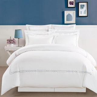 Superior Lorenz Embroidered Cotton Duvet Cover Set