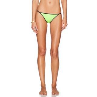 PilyQ Neo Reverse Black Twiggy Teeny Reversible Bikini Bottom