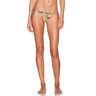PilyQ Aloha Mix-up Teeny Bikini Bottom