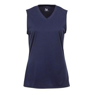 Sleeveless Women's Navy Shirt
