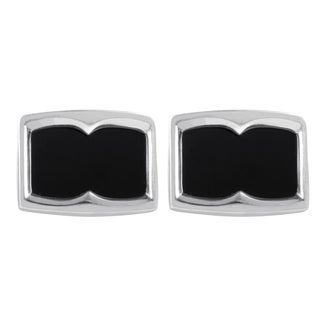 Stephen Webster Men's Sterling Silver & Onyx Cufflinks