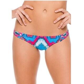 PilyQ Mumbai Fanned Teeny Bikini Bottom
