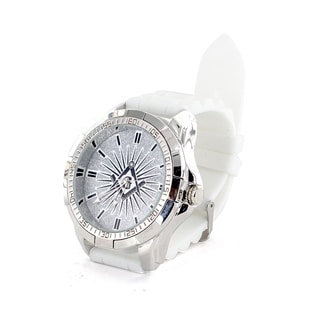 Faddism Men's Fashion Round-face Watch