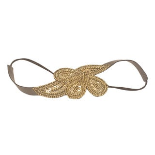 Handmade Cleopatra Gold Headband (India)