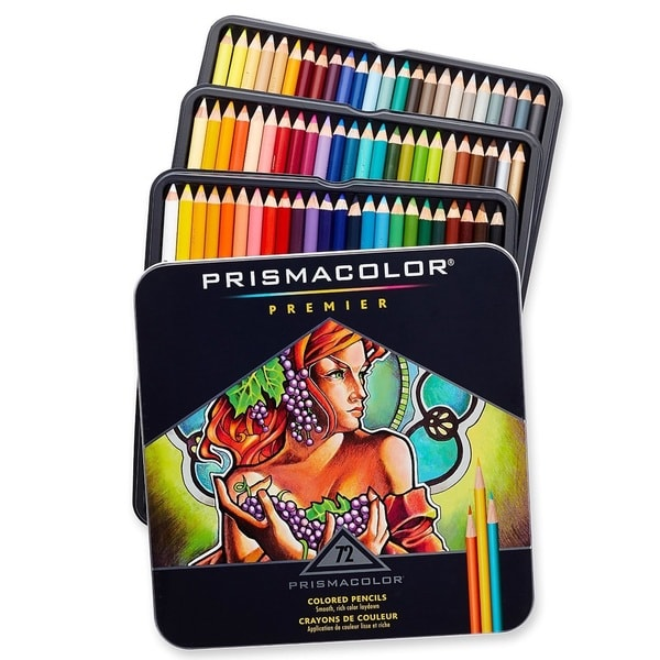 Prismacolor Premier Soft Core Colored Pencils 72 Pack Free Shipping Today Overstock Com
