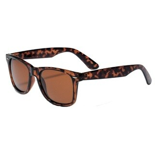 Mechaly Unisex Tortoise Classic Wayfarer-style Sunglasses