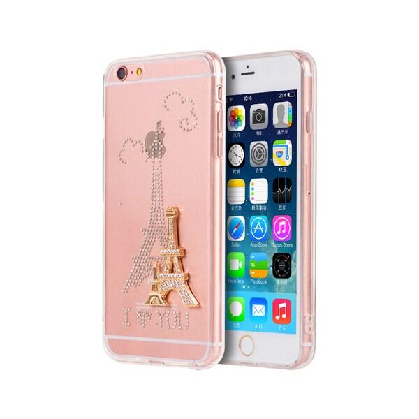 Shop Apple Iphone 6 6S Plus 3D  Paris Amour  Designer Case - Free ... 4385d045e5
