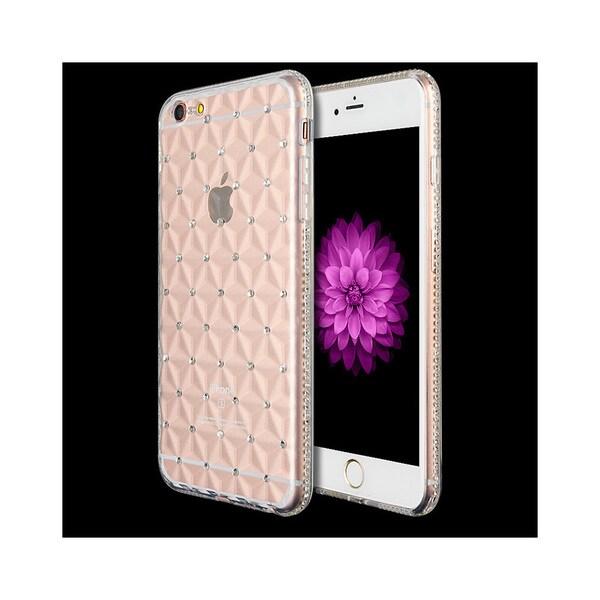 Apple iPhone 6/6S Plus Princess 3D Diamond-cut Crystal Tpu Case