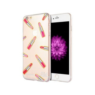Apple Iphone 6 Plus 6S Plus 'Mad For Lipstick' Whimsical TPU Series Case