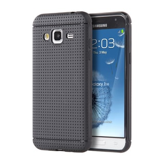 Samsung Galaxy Amp Prime J3 (2016) J320P Black Dotted Back-cover Case