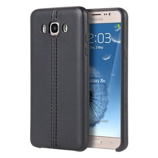 Samsung Galaxy J5(2016) J510M Slim Jacket TPU Black Leather Case
